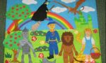 Image of students' art work